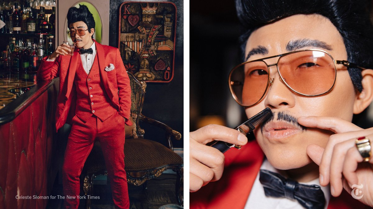 Today's Great Read:   Drag kings, at last, are getting more exposure in popular culture, and surprisingly, the pandemic may have helped.