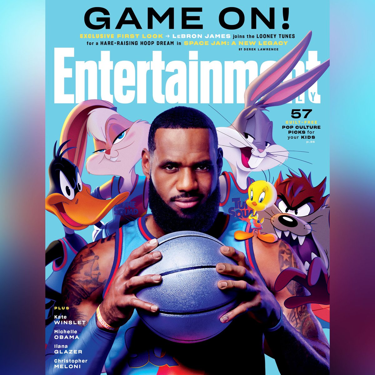 Y'ALL NOT READY FOR THIS SQUAD!!!! 😱🐰🥕👑 @spacejammovie @EW