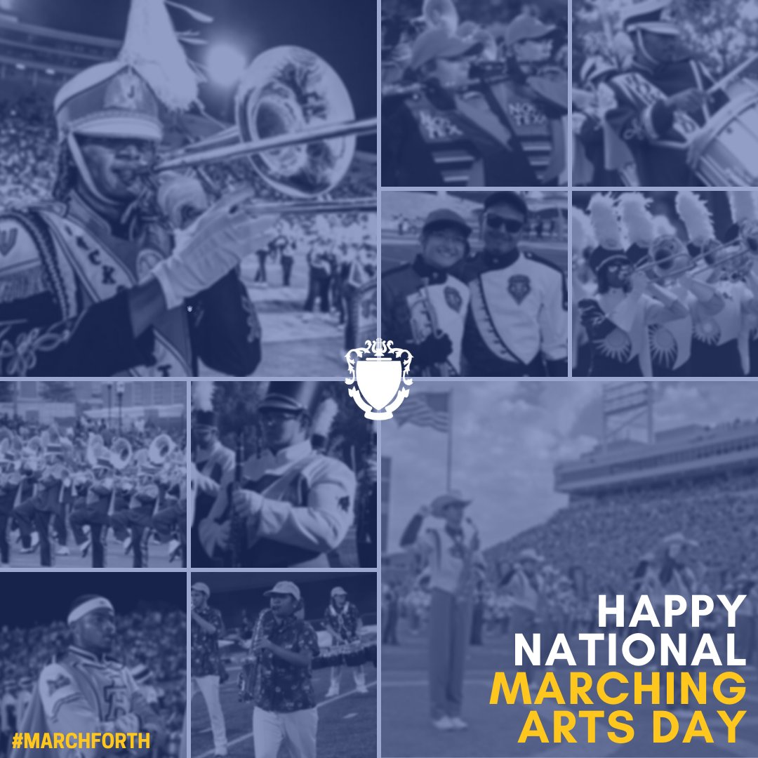 Today we celebrate the marching arts and all those who #MarchForth. • In the face of uncertainty and adversity, our love for this activity unites us and calls us to strive for the highest each time we put on our uniform or step on to the practice field.
