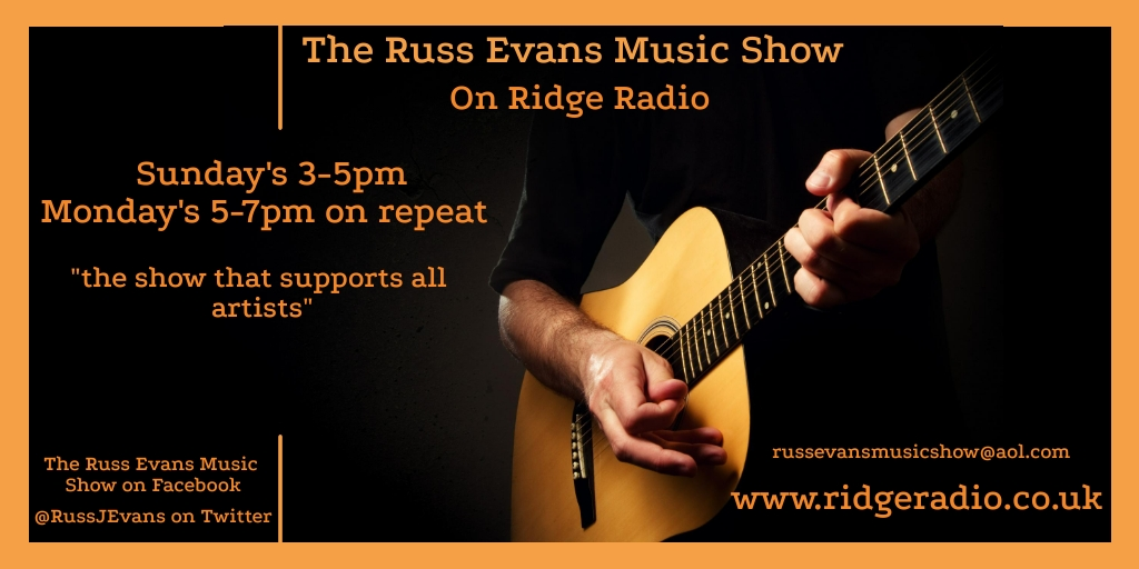 This Sunday's @RidgeradioUk Easy Listening features @CartwheelPaul @pinkfloyd @JennyColquitt @SophiaDady @JohnDenverMusic @Fishing4Comp @corrie_shelley @The_Furnaces @tashalblackmore @CourtneyA_Music @kkittermaster @Mmc80 @RebelEmG @BoyGeorge @Ruellemusic @coldplay and more 📻🎧