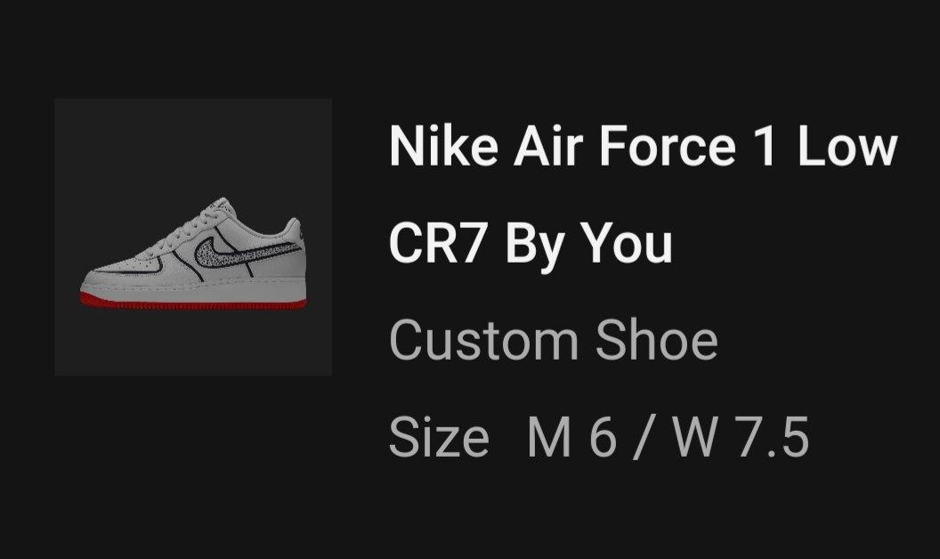 I'm super excited 😍 @Nike #NikeByYou #CR7ByYou