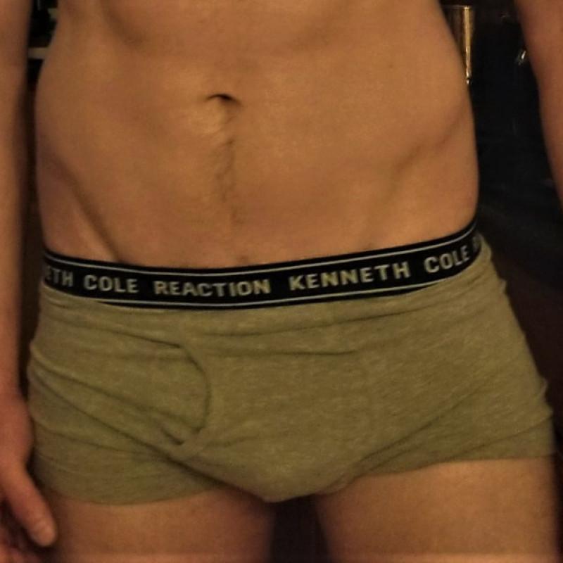 Stained underwear semen 25 Gross