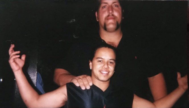 This pic was taken roughly 20 years ago behind Madison Square Garden. I think I need an updated photo, please @PaulWight 😭😅