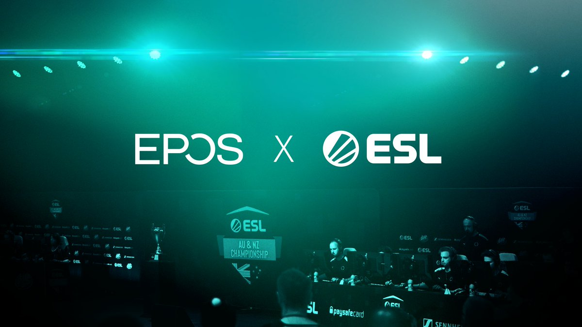 We're excited to announce a new 2-year partnership with @eposaudiogaming, who join the ESL #ANZChamps as official audio partner!  https://t.co/giAWKxMS4D https://t.co/6GpsvWziJY
