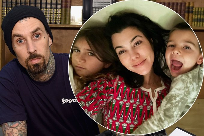Travis Barker shares love note from Kourtney Kardashian Photo