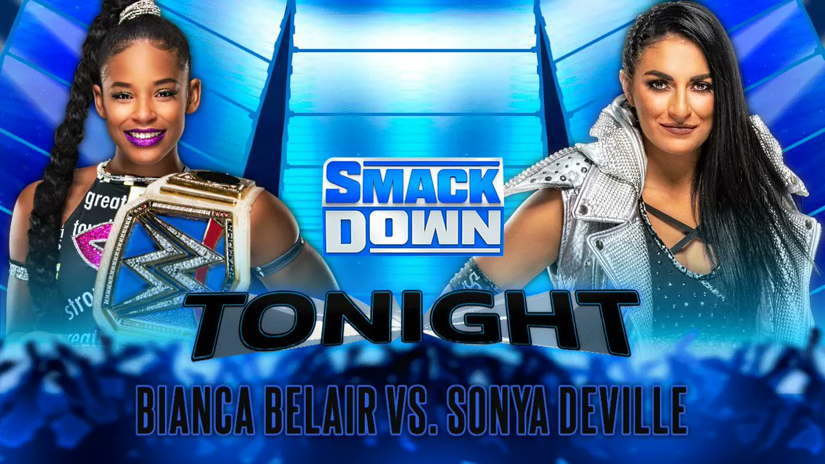 Also on #SmackDown, the SmackDown Women's Champion Bianca Belair will take on Sonya Deville & Otis will team up with Chad Gable to face The Miz & John Morrison which will decide the next team to challenge the SmackDown Tag Team Champions The Bar at #HellInACell!