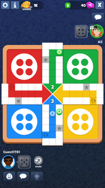 Ludo Star 2 is a well-developed #Ludo #game with a massive #online community with users always available for playing the game at any time. Multiple modes and smooth gameplay make this Ludo game a great option for all the people who love to play Ludo: