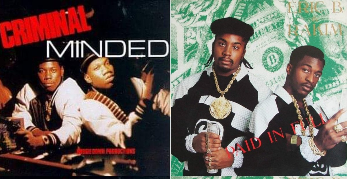 Can you imagine two of the most influential, iconic Albums of all time never received any radio play during the day! #CriminalMinded  #PaidinFull