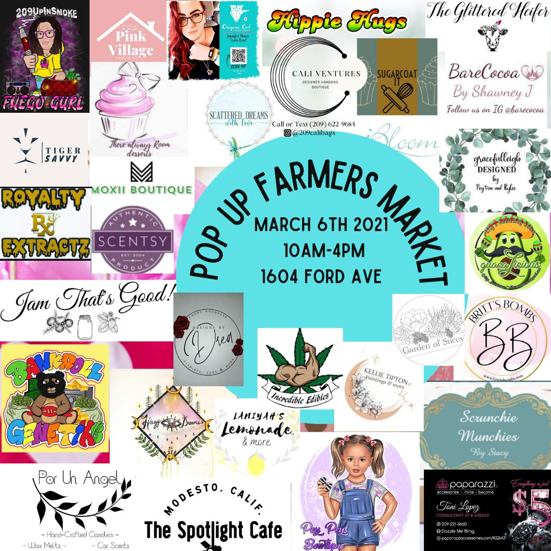 Don't miss this one!! #PopUp #Farmersmarket #pifamily #realestate #SaturdayMotivation #shopping #SaturdayVibes