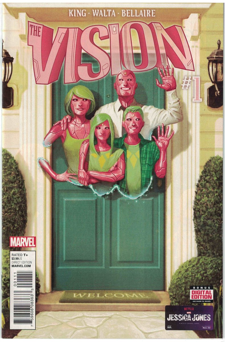 #WandaVision  By this time tomorrow we'll all be buzzing about the #WandaVisionFinale, whatever it did or didn't do.  If there's a season two? I don't see how it's not them breaking up and #TheVision creating his android family, since they've been so respectful of the comics.