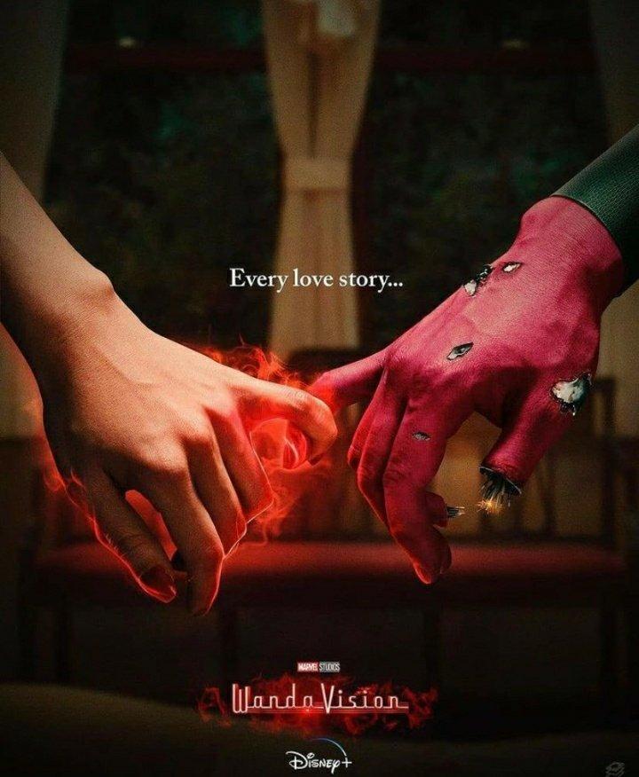 """Cada historia de amor tiene un final.""😓  #WandaVisionFinale"