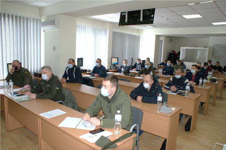 In Feb 2021, DTRA supported counter nuclear smuggling training at the George Kuzmycz Training Centers (GKTC) Multi-Purpose Training Facility (MTF) to assist Ukrainian National Guard and Police improve #WMD security. @USEmbassyKyiv #CTR30 #DetectDeterDefeat
