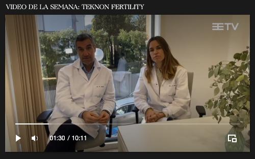 ▶ No te pierdas la entrevista de @elitefederacion al Dr. Ramón Aurell y a la Dra. Rebeca Beguería (@RBegueria), directores de la nueva Unidad de #ReproducciónAsistidaTKN de Centro Médico Teknon.   🔗Puedes verlo aquí en el apartado TV: https://t.co/msMyL1naed https://t.co/J6GZ4etih8