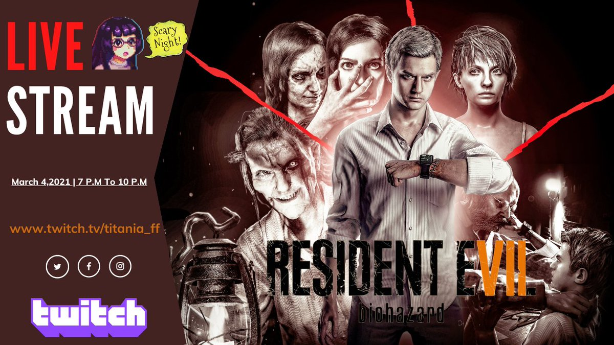 It's Time to spook ! 🧟♂️🧛♂️  #RE7 #ResidentEvilVillage #ResidentEvil #ResidentEvil8