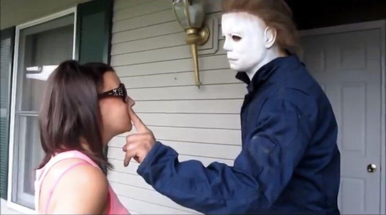 """I hate horror movies.""  Me:"