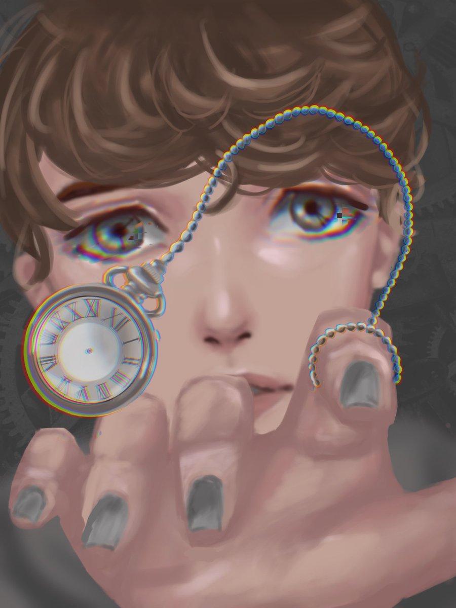 lost in time :)  #TalesfromtheSMPArt  #talesofthesmp #karljacobsfanart  #karlfanart