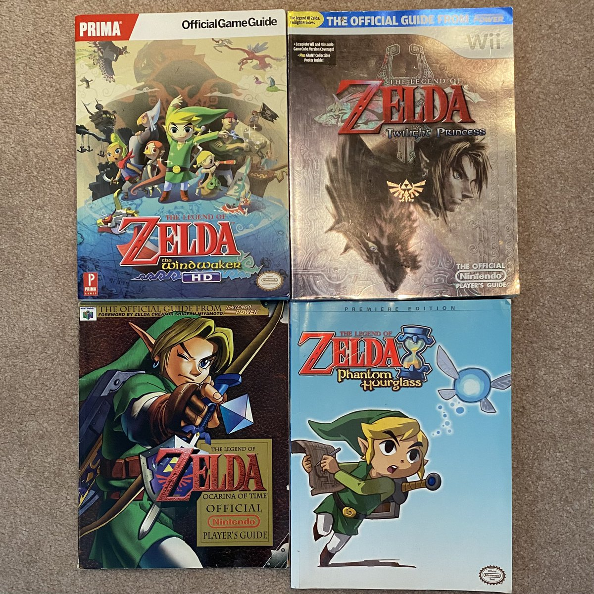 Picked up #Zelda #Windwaker strategy guide today for $10.  I've restricted my guide buying to #Mario #Zelda #Fallout #Pokemon and #FinalFantasy.  Haven't used one yet haha.  Oh well.  Neat to look at.  And this was a #WiiU guide which I don't see often.  #Nintendo #NintendoSwitch