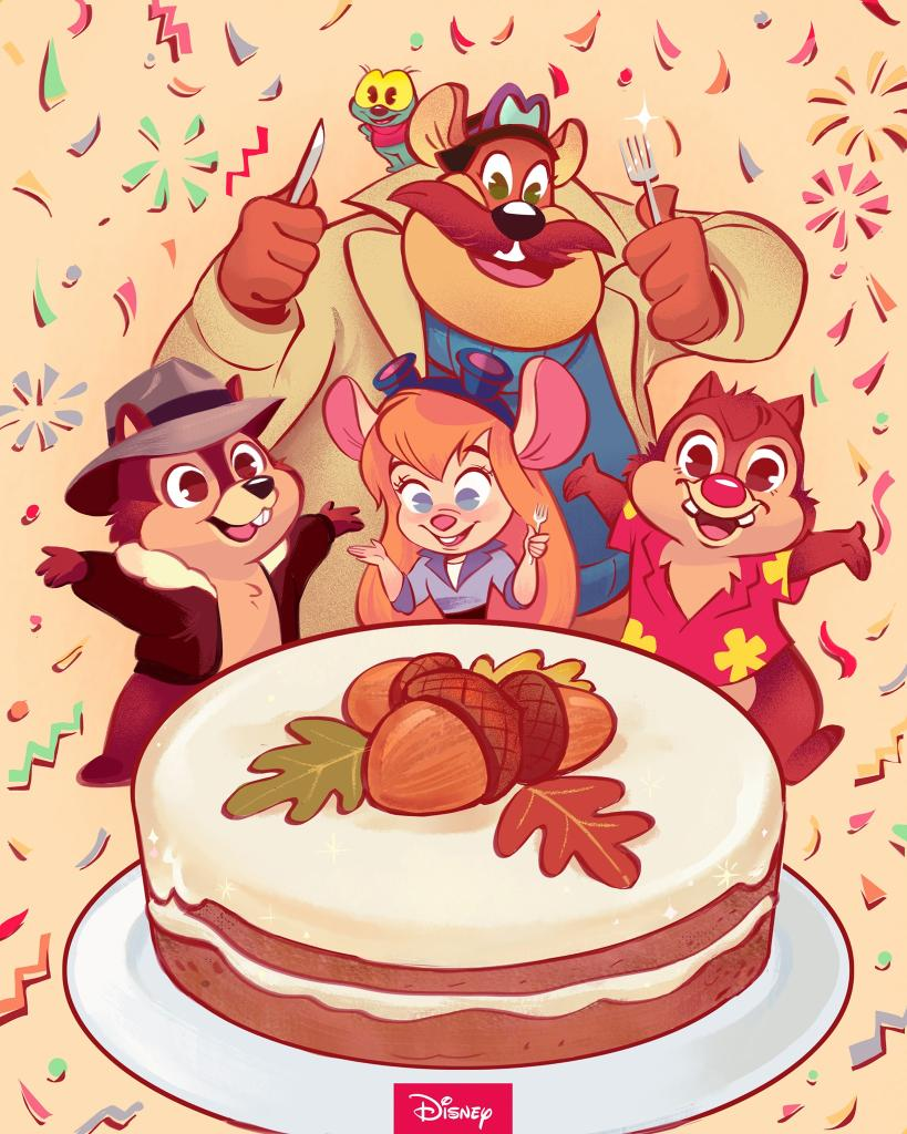 There's nut-thing they can't do! Chip 'N Dale Rescue Rangers debuted on this day in 1989.