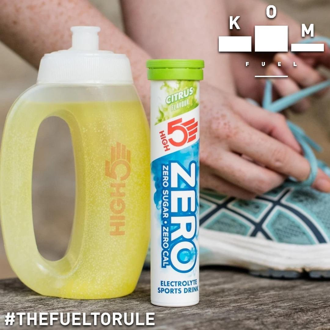 HIGH5 ZERO is a refreshing sugar free electrolyte drink with no calories that makes it easier to stay hydrated  #fueltorule 👉   #komfuel #high5 #HIGH5Fuelled #fuel #electrolytes #electrolytedrink #citrus #vegan #vegetarian #sugarfree #naturalfruit