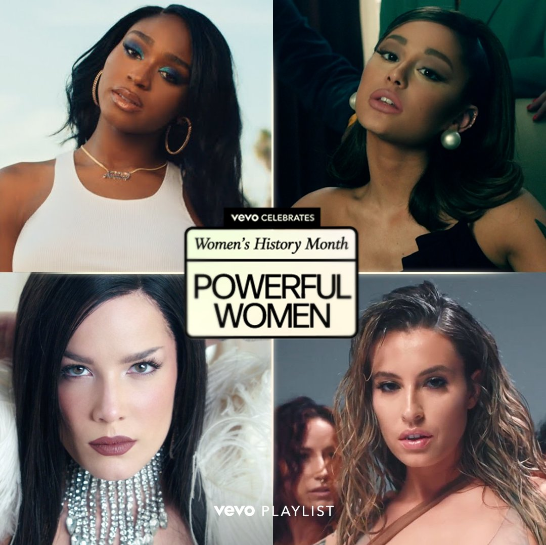 Let's hear it for all the powerful women in pop music.  👏 💪  @normani, @arianagrande, @halsey, @findingfletcher and countless other leading ladies have turned strong messages into heavy hitting anthems. Give them all a watch now!  ⠀⠀⠀⠀⠀⠀⠀⠀⠀ ▶️