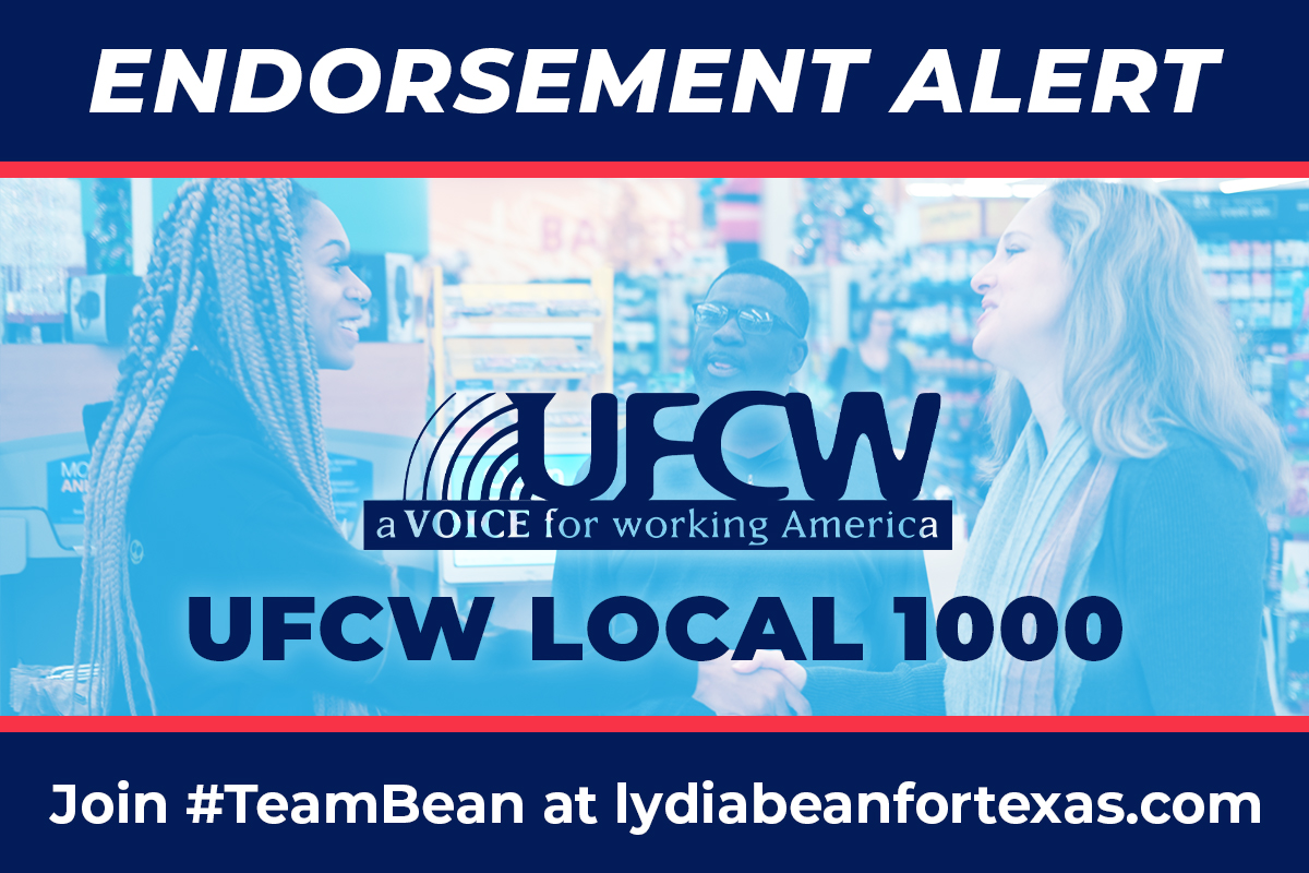 Our essential workers, like the members of UFCW Local 1000, have helped our communities through some of our most challenging times. I am proud to have their support and to stand with UFCW Local 1000 in our continued fight for Paid Sick Time. #TX06