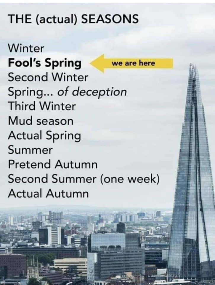 'British Seasons' #spring #summer #Autumn #WINTER