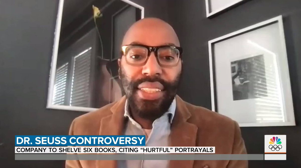 News that six #DrSeuss books will stop being published got this @TODAYshow assessment from @ChrisEmdin @Columbia professor and #UBGSE #BelovedCommunity speaker: The US is reckoning with its past. Hear more. Register for the free March symposium:  #UBuffalo