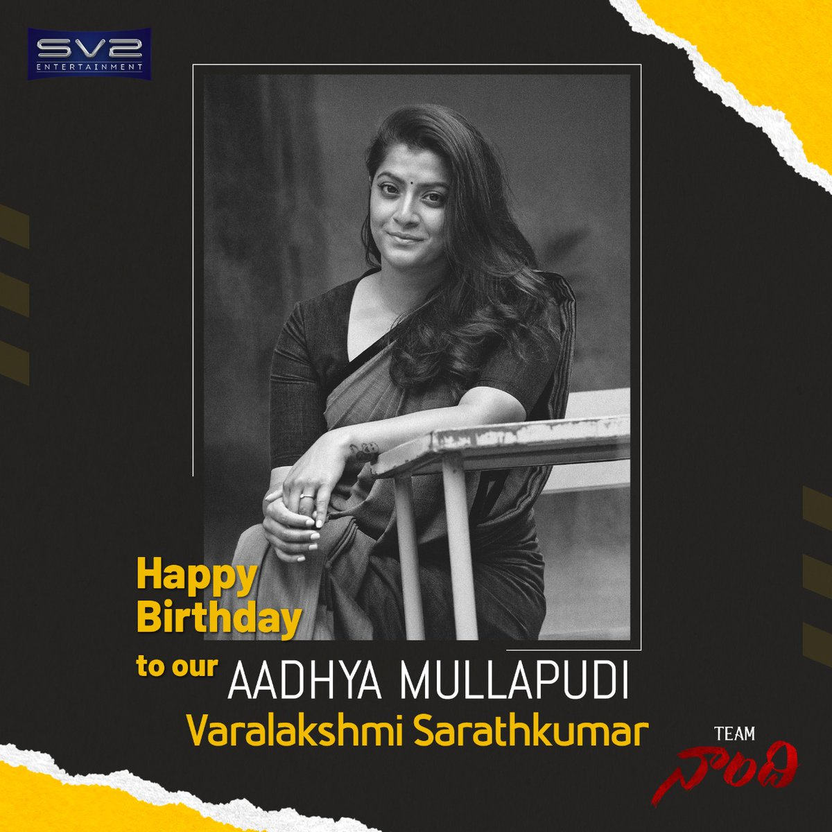 Happy birth day to our AADHYA MULLAPUDI @varusarath5