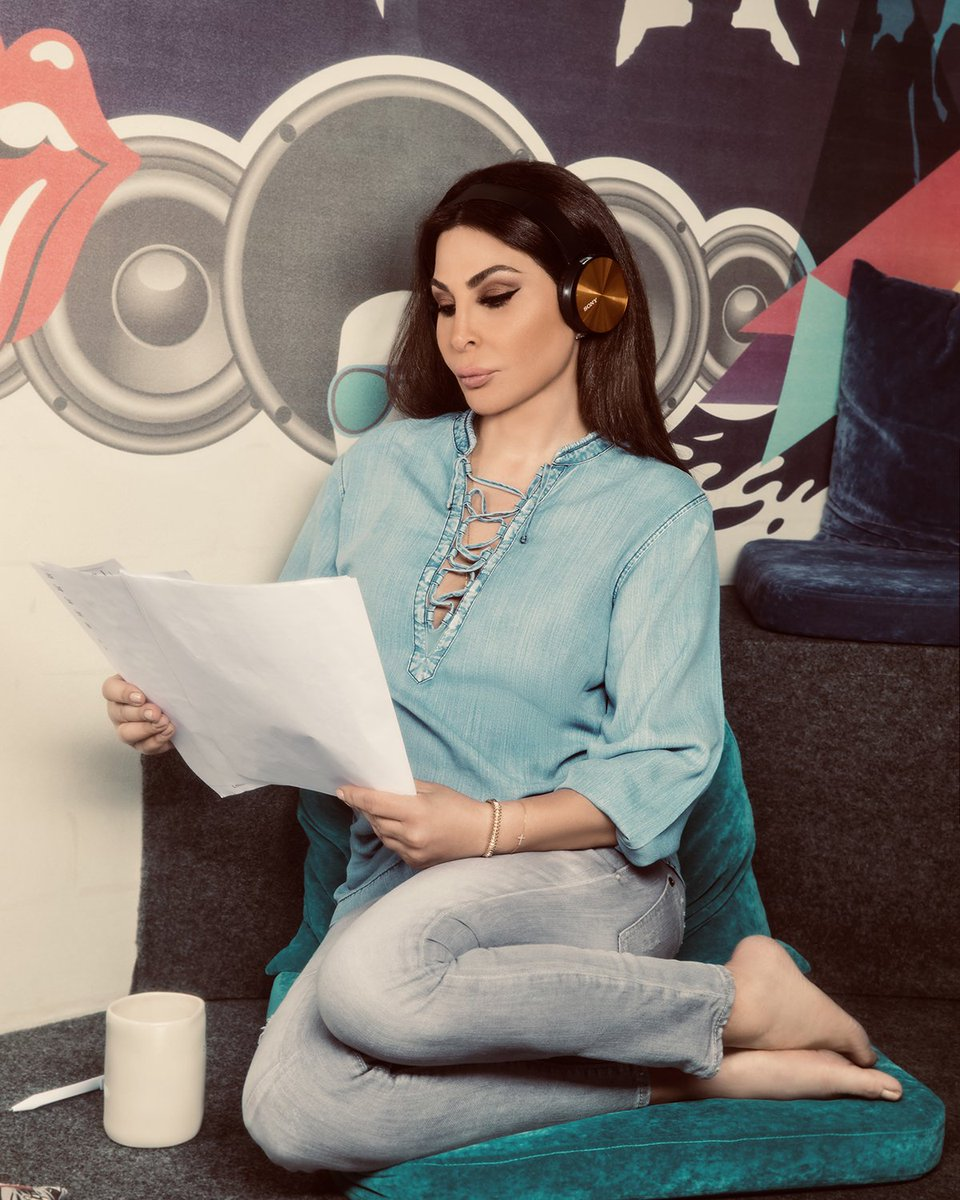 Dont miss my #ElissaThePodcast  @anghami  مين بعد ما سمع🥰🥰