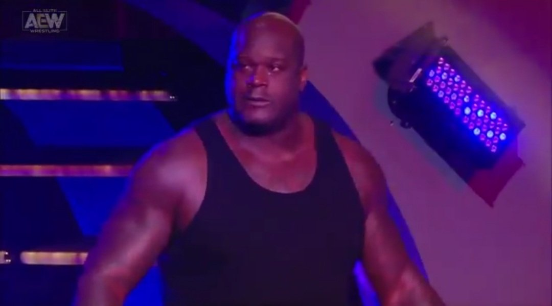Honest thoughts about #Shaq last night. #AEW #AEWDynamite  #WrestlingWednesday