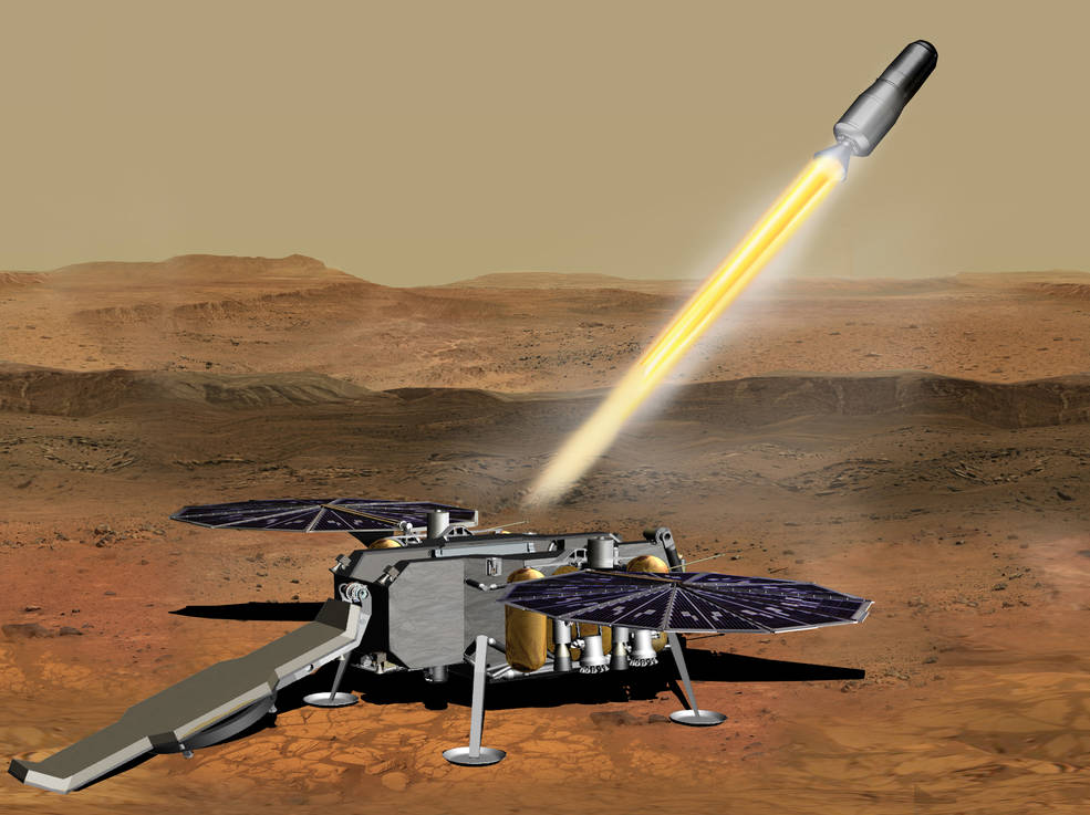 The Mars Ascent Propulsion System contract has been awarded to @NorthropGrumman. This moves @NASA & @ESA closer to realizing Mars Sample Return, a mission that will collect @NASAPersevere's samples for return to Earth and build upon decades of exploration. https://t.co/Y3z17D1Kdb https://t.co/7LVx5Y6KIO