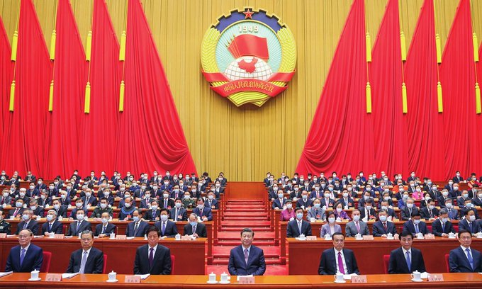 Two sessions begin, showcase Chinas institutionalized substantial democracy Photo