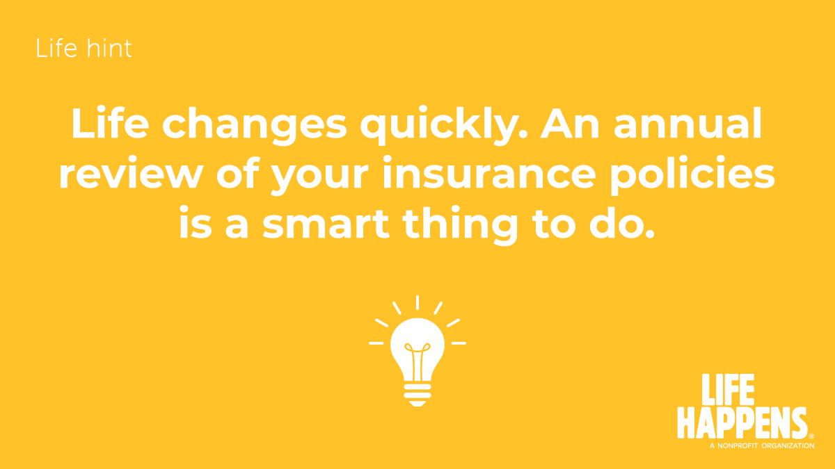 When's the last time you reviewed your policy? Getting coverage is important, but maintaining it is just as critical to stay adequately protected. Reach out to us and review it today:  #stayprotected #lifeinsurance #protip #insureyourlove #ThursdayThoughts