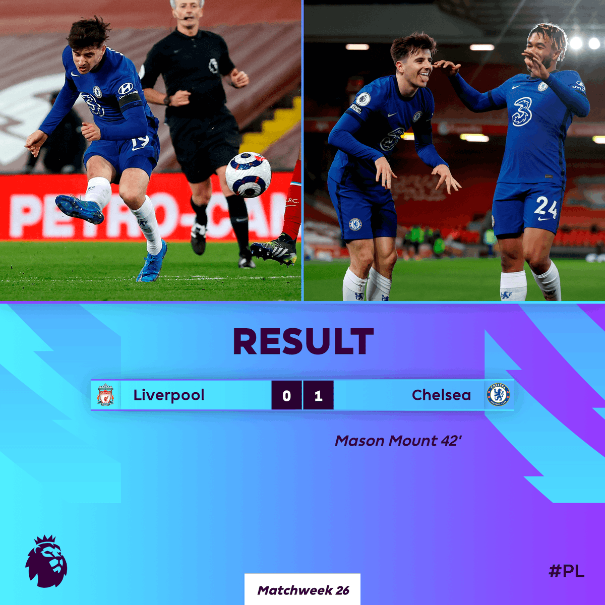 Replying to @premierleague: ✅ Another clean sheet ✅ Another three points  Chelsea hold on at Anfield 🔐  #LIVCHE