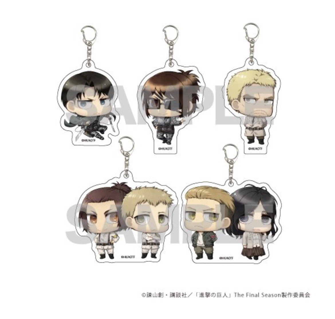 [OPEN FAST PRE ORDER MERCH #AOT SEASON FINAL] 🇮🇩  🗞STANDE 🗞KEYRING SET  🗞LEATHER STRAP 🗞MIRROR 🗞CASE HP 🗞CHARACTER PASS 🗞CANVAS ART   🔎Detail :   CLOSE : 10 - 03  SHIPPING WEB : APRIL   📌INVITED GROUP ORDER   DM FOR PAYMENT 💌 #AttackOnTitan