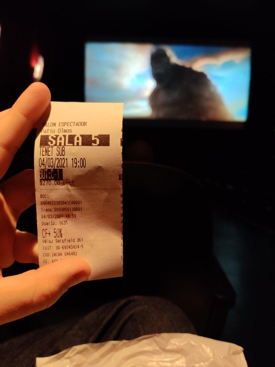 Hoy se vuelve... 😍 ft. Kong @CinemarkHoyts https://t.co/tvpCx1Cpd0