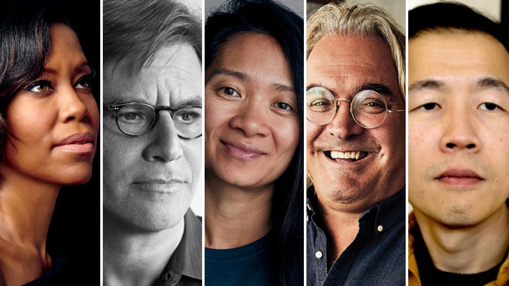 Who will win best director at the #Oscars? @AwardsCircuit predicts:    - Lee Isaac Chung, #Minari  - Paul Greengrass, #NewsOfTheWorld  - Regina King, #OneNightInMiami  - Aaron Sorkin, #TheTrialOfTheChicago7  - Chloé Zhao, #Nomadland