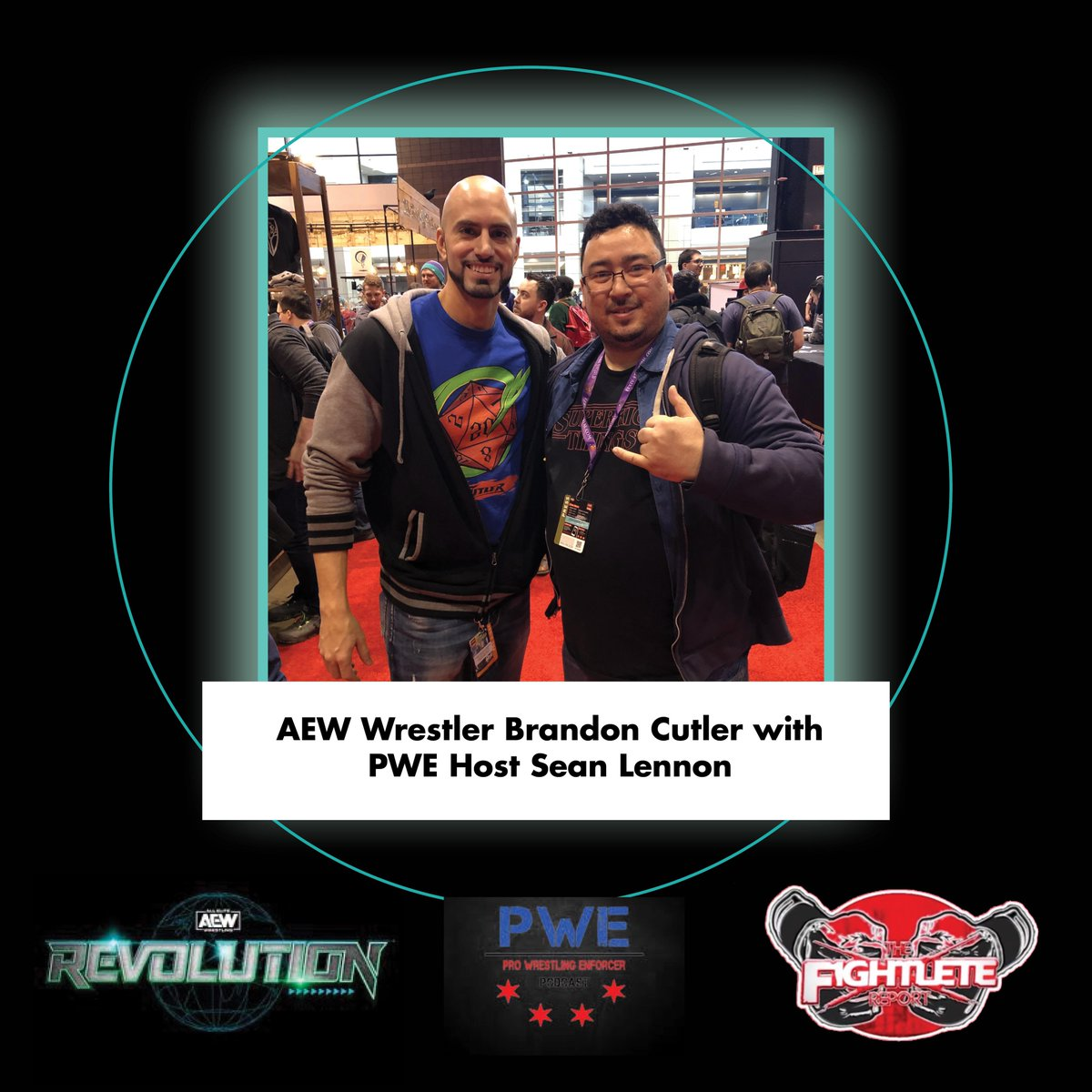 Check out our coverage of #AEWRevolution and the latest on @BranCutler and more at !  #BrandonCutler #AEW #prowrestling #ProWrestlingEnforcer #boxing #MMATwitter #Fightlete #MBJProductions