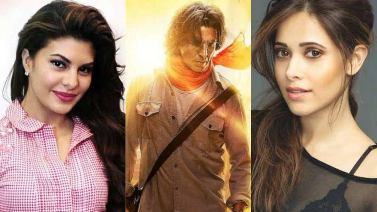 .@Nushrratt and @Asli_Jacqueline are the leading ladies in #AkshayKumar starrer #RamSetu  #JacquelineFernandez
