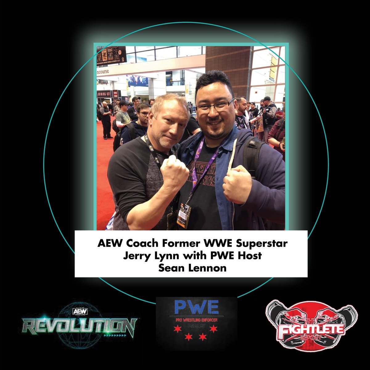 Check out our coverage of #AEWRevolution and the latest in the world of #prowrestling at ! @itsjerrylynn   #AEW #coach #JerryLynn #WWE #prowrestling #ProWrestlingEnforcer #boxing #MMATwitter #Fightlete #MBJProductions