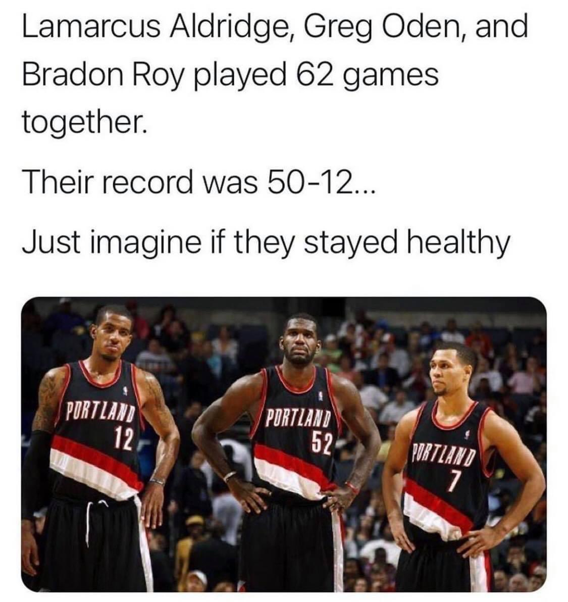 Would they have won a championship? 👀🤔  #NBA #Portland