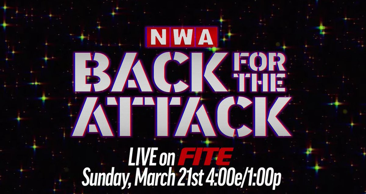 ICYMI  @nwa just announced on @YouTube that THEY. ARE. BACK.  🔙March 21 at 4pm ET, they are #BackForTheAttack ➡️ Pre-Order now:   ⚡️Then, Tuesday, March 23 at 6:05pm ET, #NWAPowerrr returns *Available soon for pre-order  Catch all the #NWA content on #FITE