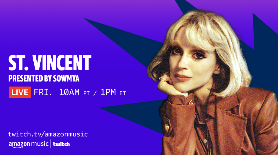 Join our host @SowmyaK for an in-depth conversation with recording artist @st_vincent and super-agent Sam Kirby to kick off our #WomensHistoryMonth panel series — GROUP THREAD: Not Pictured.   Watch in the Amazon Music app ➡️