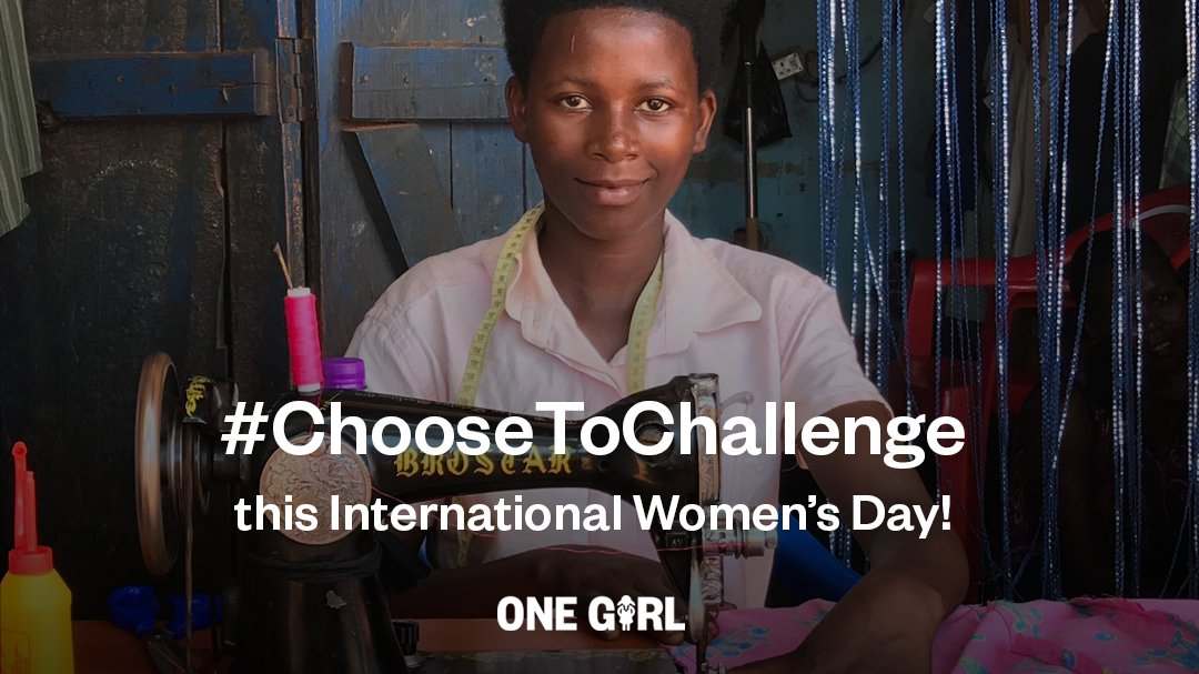 Today, so many women and girls still face so many challenges – simply because they were born a #girl. We #Choose ToChallenge that. Will you join us? Donate to support #WomenAndGirls in #Uganda to challenge the status quo and smash gender stereotypes –