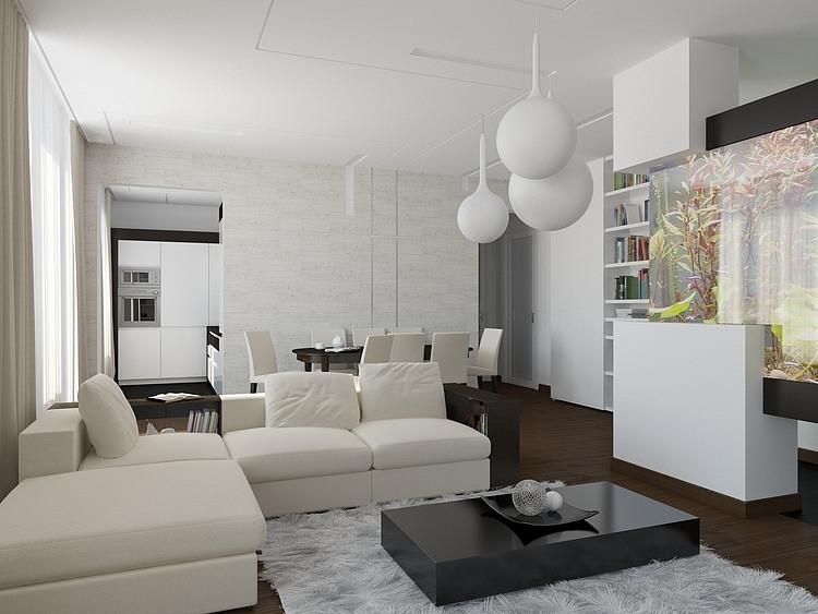 Leninskiy Ave Apartment by Telemak Ananyan    #architecture #interiordesign #home #decor