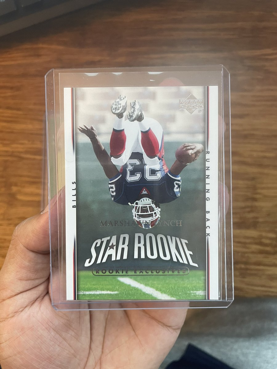 Mail Day today!! Two Mr. Skittles Beast Mode Rookie Cards!  #thehobby #whodoyoucollect #metroleaguecards #beastmode #seahawks #buffalobills #marshawnlynch #lynch #skittles #rookiecard