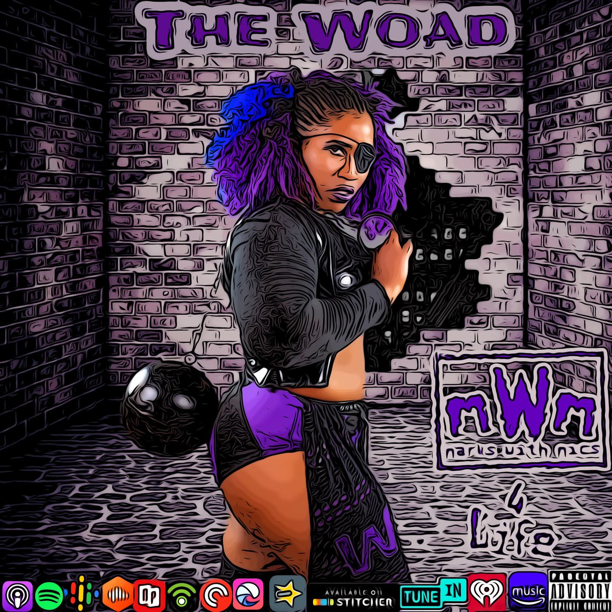 🚨New Episode🚨 On this episode @Mr6Foot9 & @ElCheech216  interview @_TheWOAD  Topics  - Dream Matches  - Women's Evoultion - Say it Loud Event.  - Diversity in wrestling - Women are not all the same - #WomensHistoryMonth  - And More Click the link below