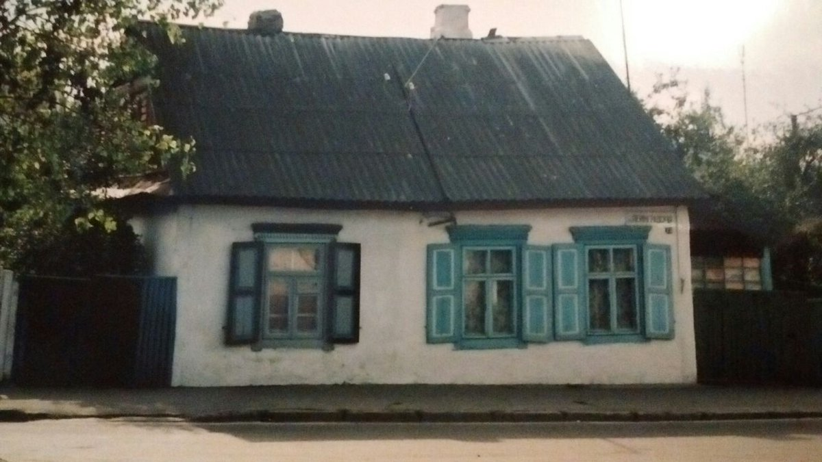 This is a village house near Pinsk, Belarus. #Village #Belarus #Pinsk #architecture