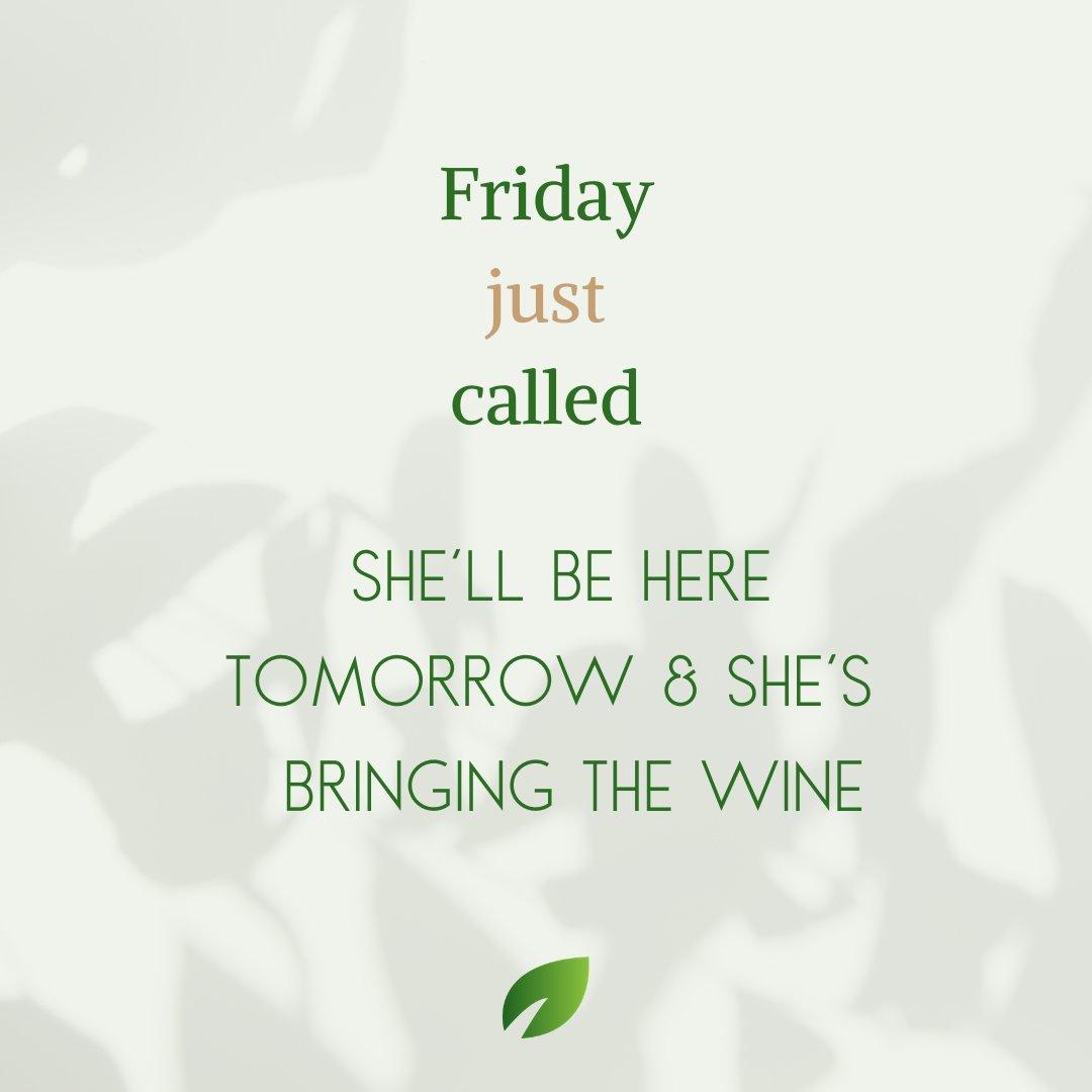 🌟Get ready for a beautiful weekend!!🌟 . . . #friday #weekend #wine #relax #unwind #familyltime  #stressfree #saturday #sunday #freetime # fun #getoutside #trinityfl #cultivatingbeautifuldays #tampafl  #florida