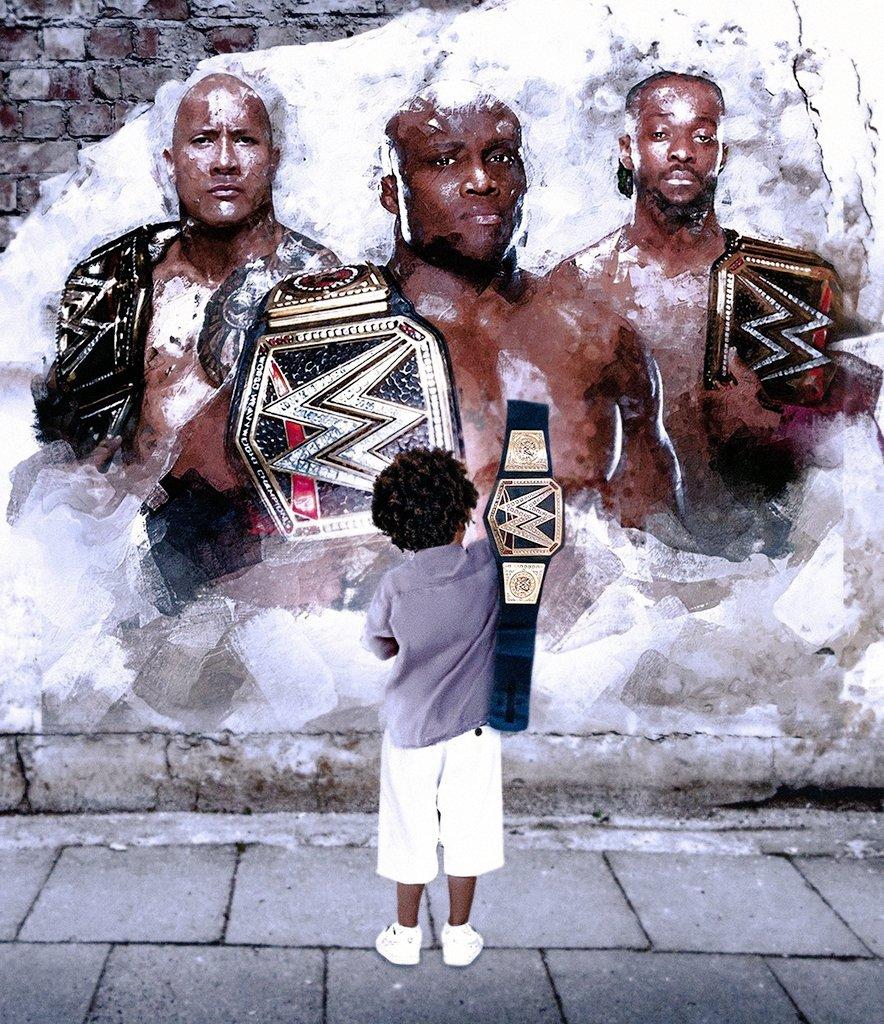 🏅La imagen que le esta dando la vuelta al mundo del Wrestling. 🤩  #WWE. #SmackDown. #WWENXT. #WWERaw